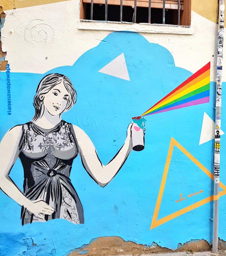 #streetart #lanenawapa #Valencia #intramurs