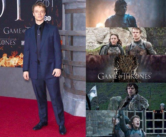 Hoy cumple 33 años Alfie Allen (Theon Greyjoy en  Happy Birthday