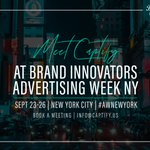 Captify will be back at #AWNewYork this year, joining @BrandInnovators for a week packed with live content and some of the world's biggest brands. Get in touch if you'll be in NYC and want to catch up with the @Captify team!  #BISummit