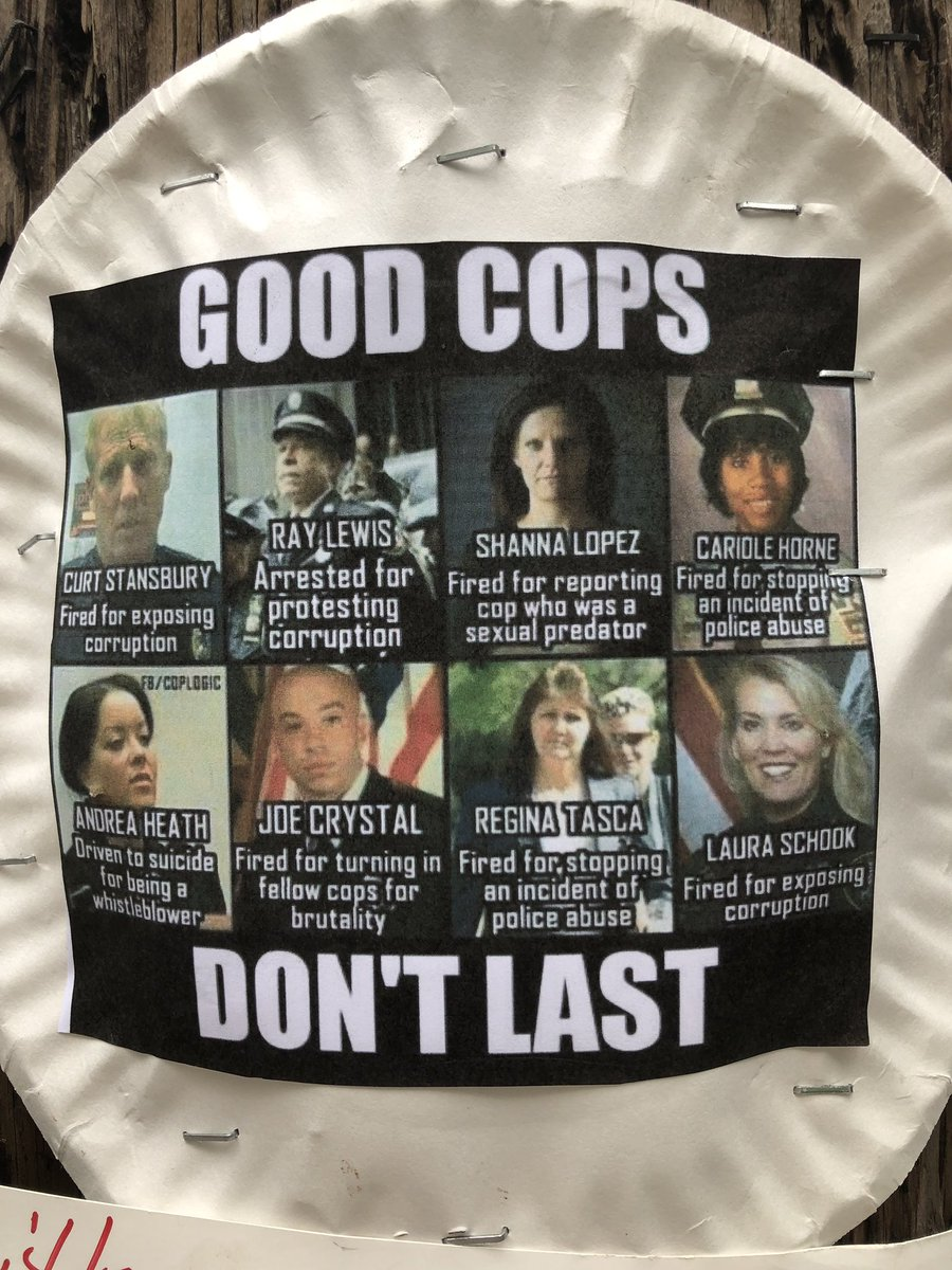 """@MikeLandry70 @ColbyPenadios Oregon's city & state governments are really and truly fucked - along with our brutal racist cops. Don't tell me about the """"nice"""" cop that's your son-in-law, pal or neighbor. Police have #GangCulture - with an iron-clad #CodeOfSilence. Individuals are not free to even be """"good."""""""