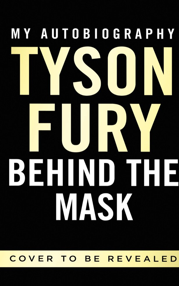 My autobiography behind the mask. Out November 14.
