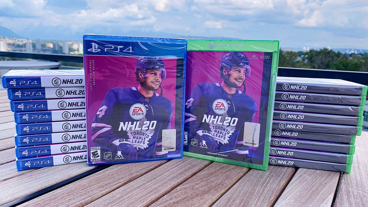Can't think of a better way to celebrate #NationalVideoGamesDay than playing some #NHL20! 😃  RETWEET and REPLY with #NHL20 for a chance to win a copy! 🥰