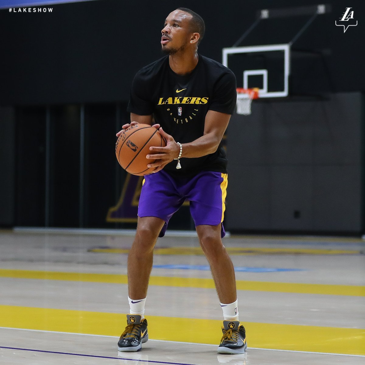 Great energy in the lab today #LakeShow
