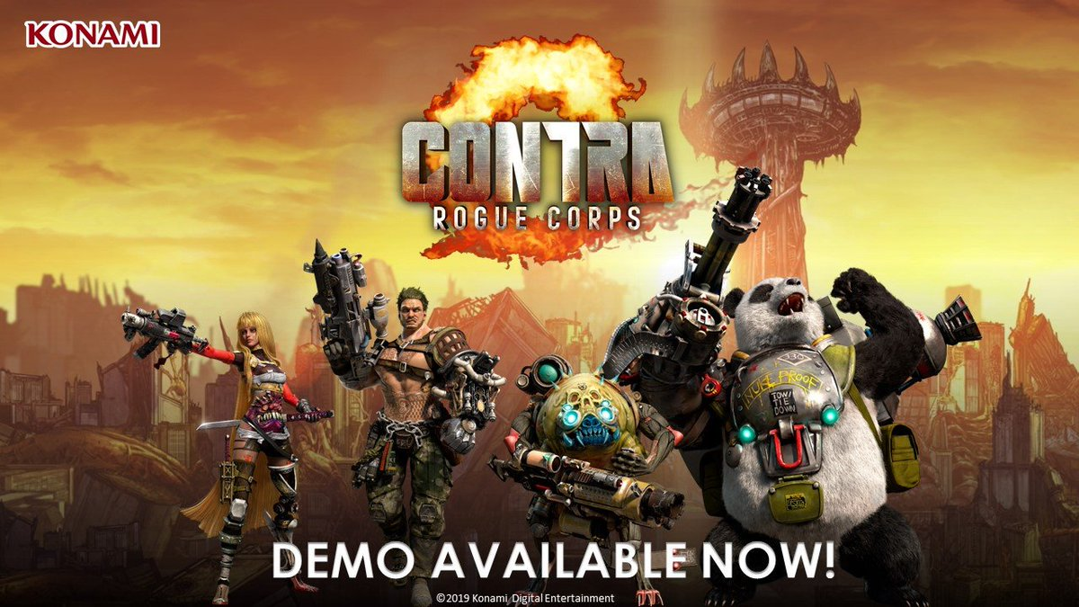 Konami On Twitter Contra Rogue Corps Demo Is Out Today For Xbox One Nintendo Switch And Ps4 The Damned City Is Not Going To Save Itself Contra Contraroguecorps Demo Https T Co Czgpz3e9fn