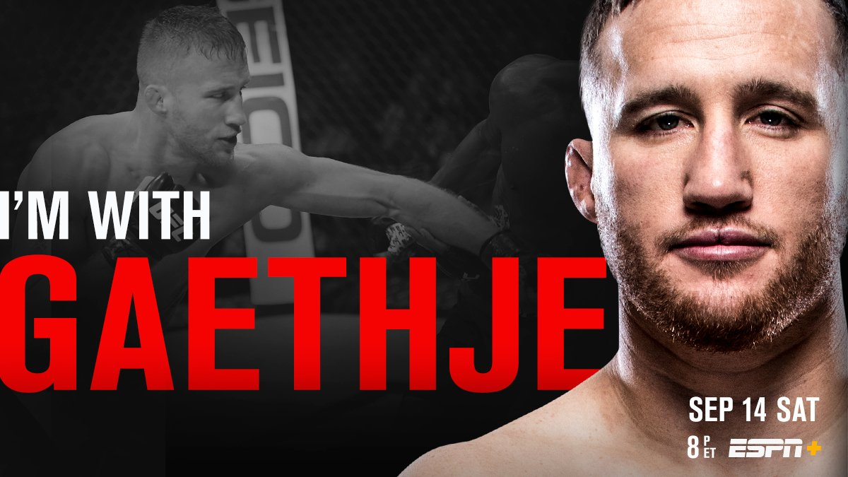 Can't miss television!  RT if you're with  @Justin_Gaethje at #UFCVancouver | Saturday | LIVE on E+<br>http://pic.twitter.com/j6ISxh3NQC