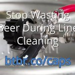 Stop wasting beer during #beer line cleaning.  Find out how much beer you waste during line cleaning and how much you can save with our caps here https://t.co/cufIxLWA41