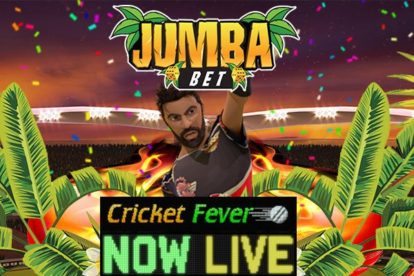 Jumba Bet No Deposit Bonus 40 Free Spins On Cricket Fever