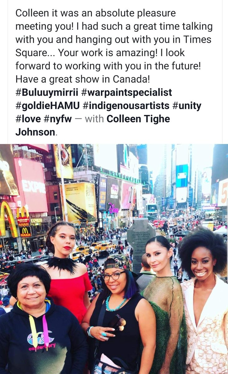 @buluuymirrii  #designerbuluuymirrii  #colleentighejohnson  #NewYork #photoshoot #TimesSquare 2017 https://t.co/VDfZlwjM1l