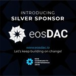 Image for the Tweet beginning: We're excited that @eosdac, a