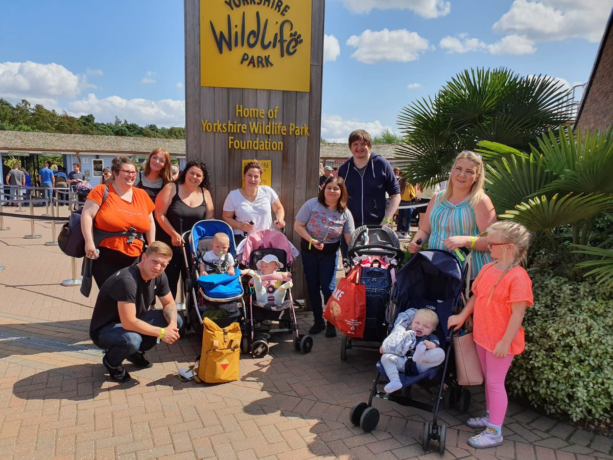 Taking a walk on the wild side! 🐅 Our care experienced young people and their families enjoyed a brilliant day out at Yorkshire Wildlife Park! Thanks to our funders @co_opfoundation