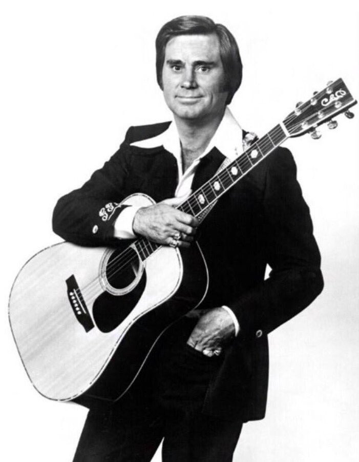 Happy birthday to The Possum George Jones. Born in Saratoga, TX