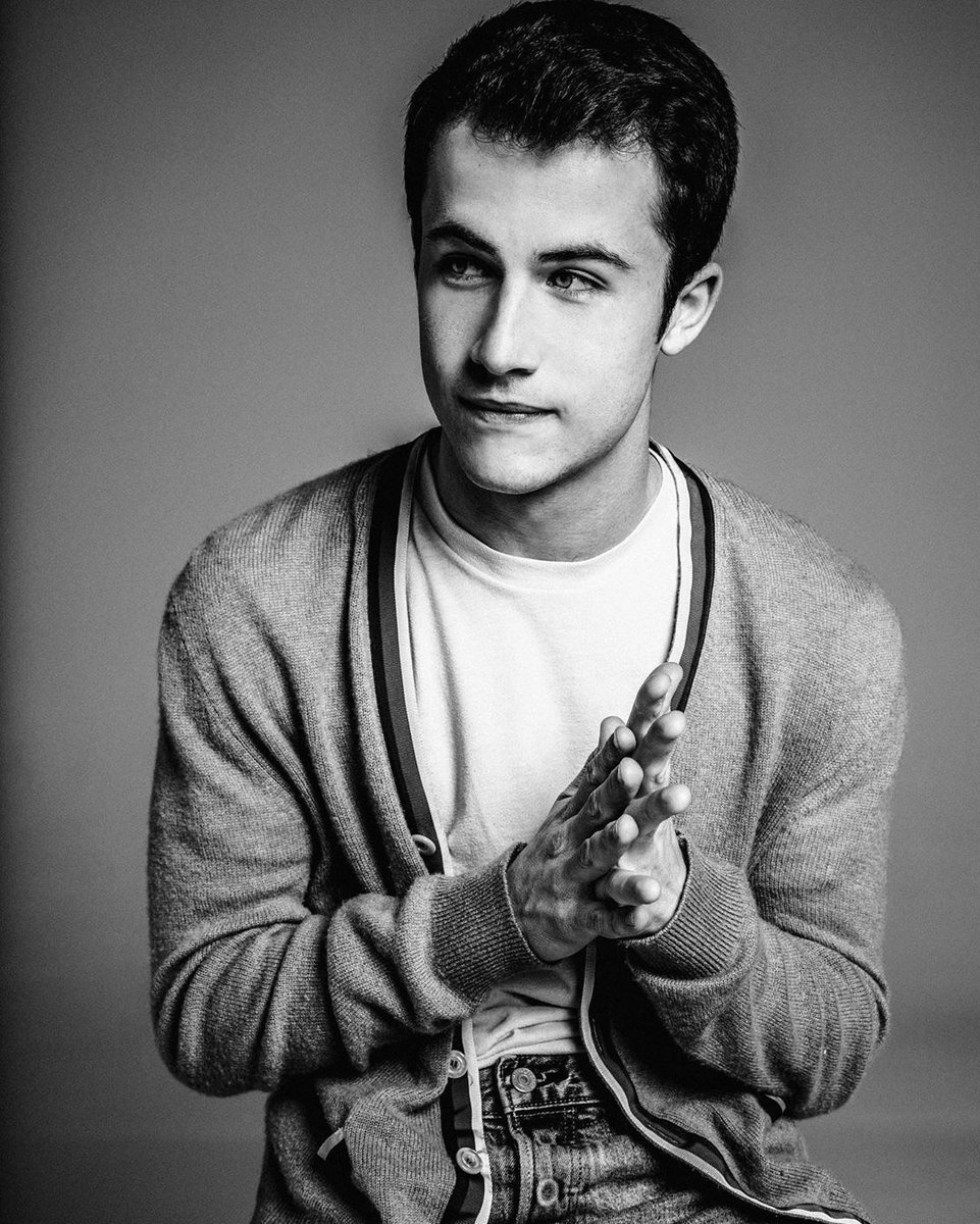 Dylan Minnette. Thats it. Thats the post. Photo by @damonbaker.