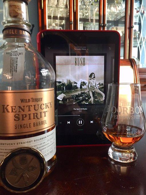 Some Kentucky Spirit and Spirit of Radio. Happy birthday Neil Peart!