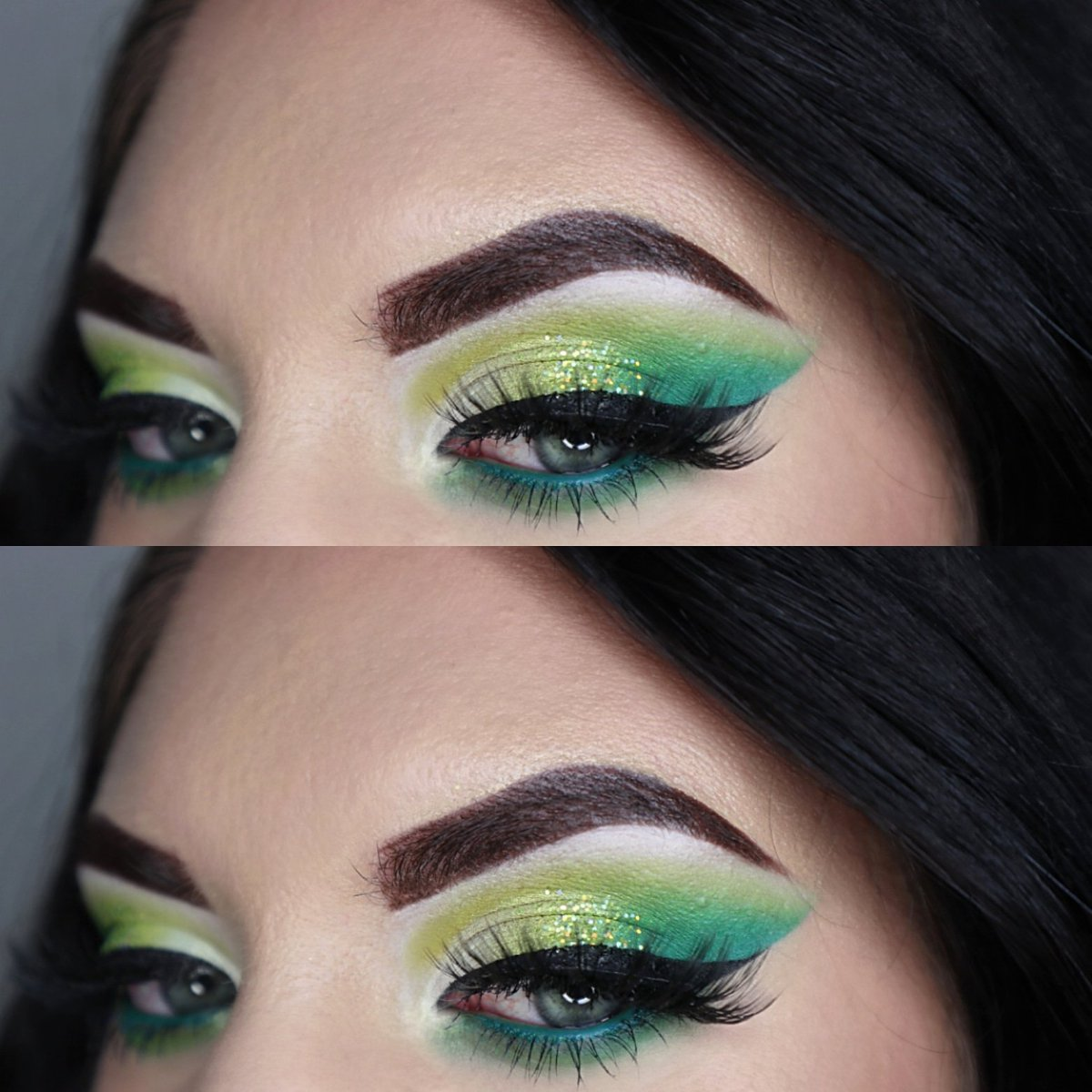 Think green @ABHcosmetics  Dipbrow pomade @MorpheBrushes Life in color palette   @LancomeUSA  Grandiose eyeliner @Itcosmetics  Foundation #mua #makeupartist #denvermua #makeupaddict #eyeshadow #queen #morphe #ABHcosmeticspic.twitter.com/U4Q9Opfs0i