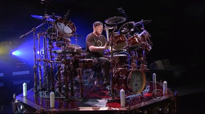 Happy Birthday Neil Peart: Live On \Letterman\ In 2011