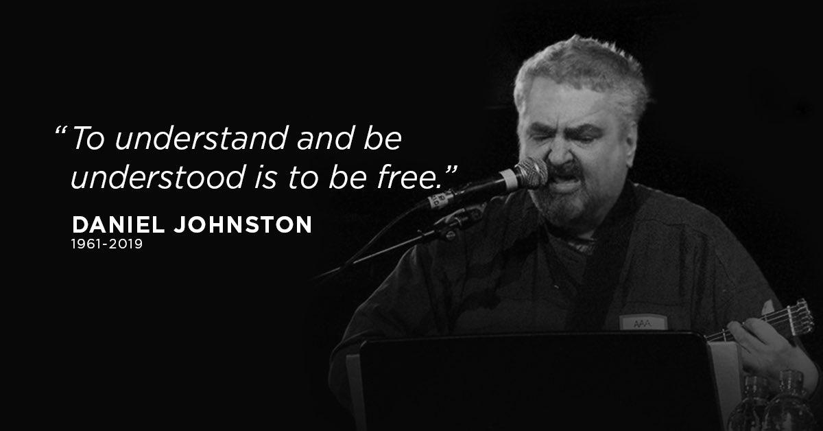 He will be missed. 💔 #DanielJohnstonRIP