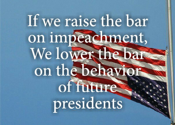 There are impeachment investigations going on and have been since March...#ResistanceForum