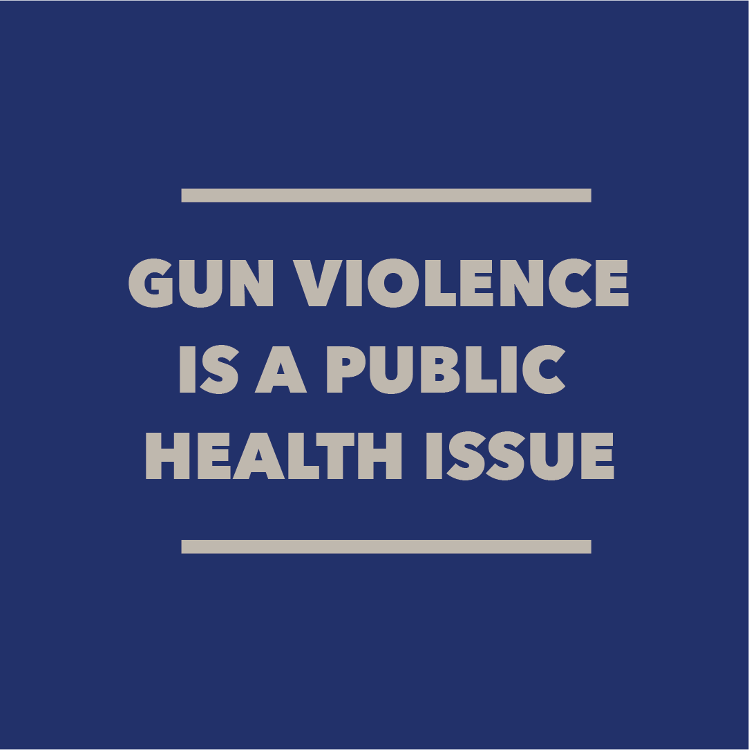 Gun violence is a public health issue — and all people deserve to live safe and healthy lives without the fear of violence. #DemDebate