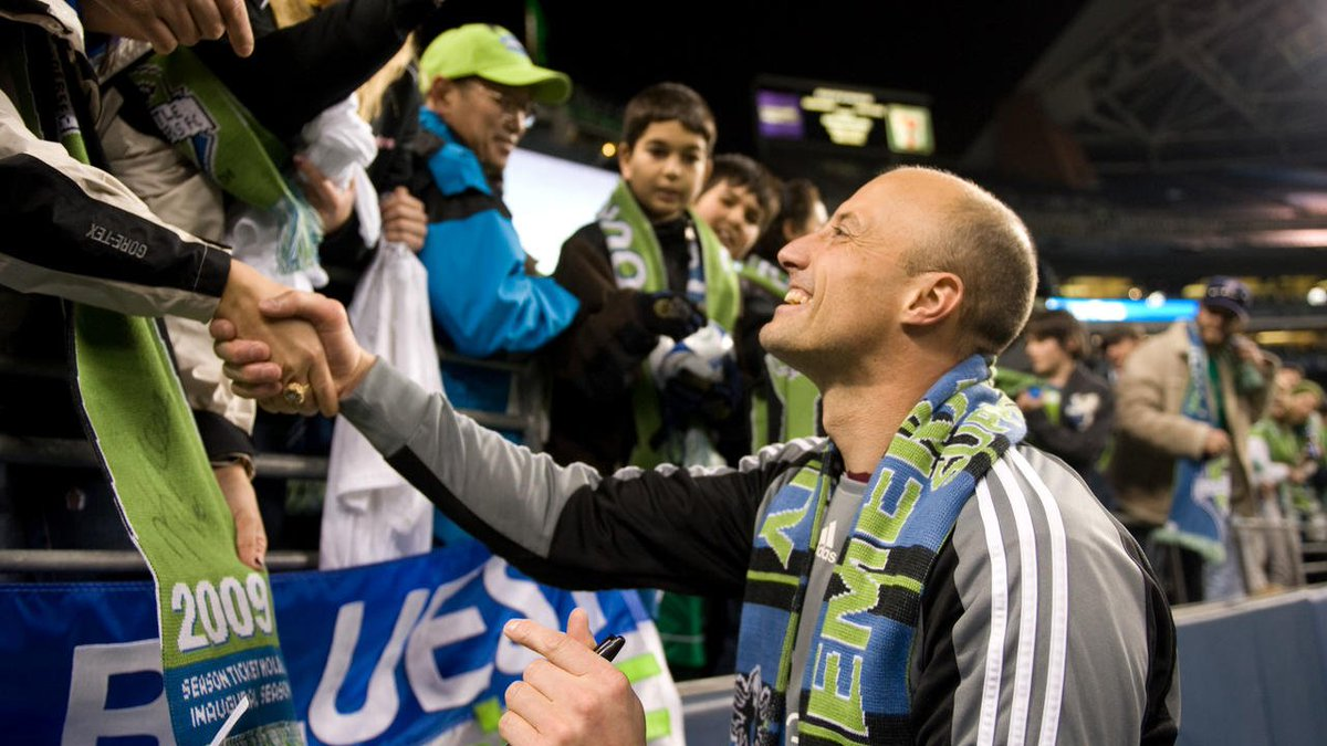 #TBT: March 2009 Ahead of #SEAvNY, let's take a look back at our inaugural @MLS match. 💙