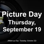 Image for the Tweet beginning: Picture Day is next week: