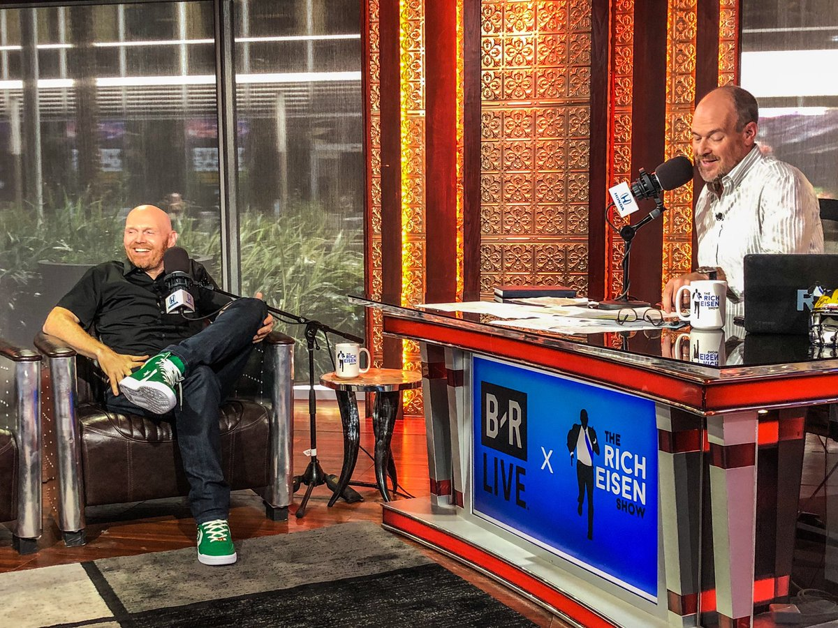 Rich Eisen Show On Twitter Thanks To The Great Billburr And His Old School Kevinmchale Inspired Celtics Green Converse For Joining Us Today Catch Bill S New Comedy Special Papertiger Streaming Now On Netflix Https T Co E27i4fmpuc