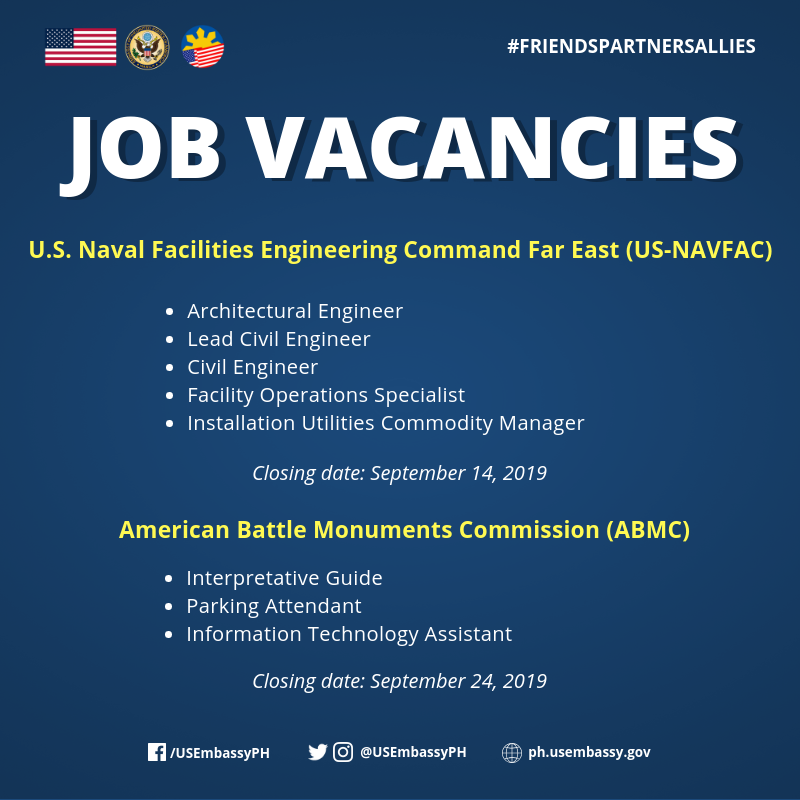 U S  Embassy in the Philippines on Twitter: