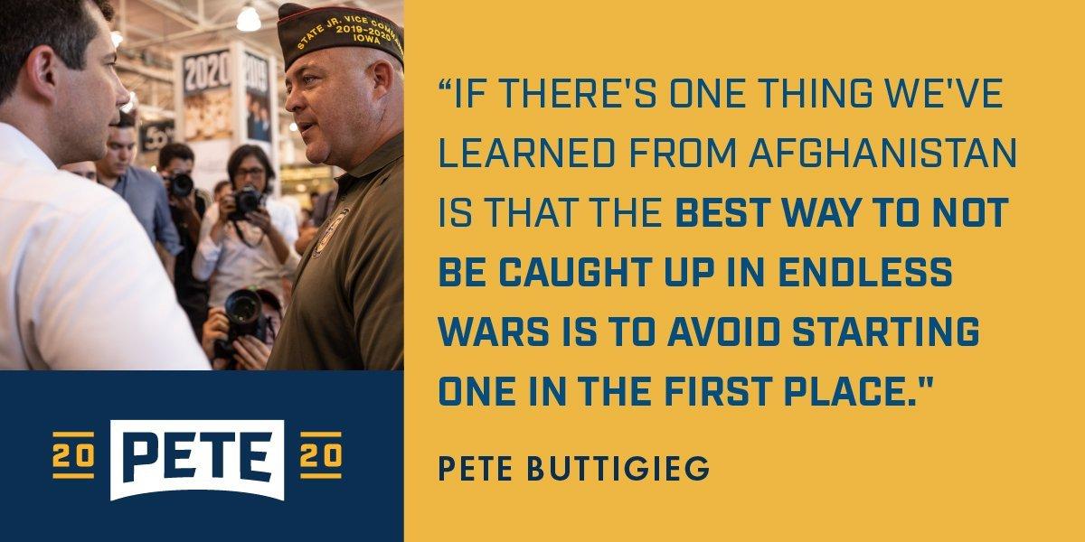 How to avoid endless war? Let's not start them. #DemDebate