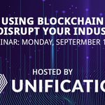 Image for the Tweet beginning: FREE WEBINAR: Using #Blockchain to