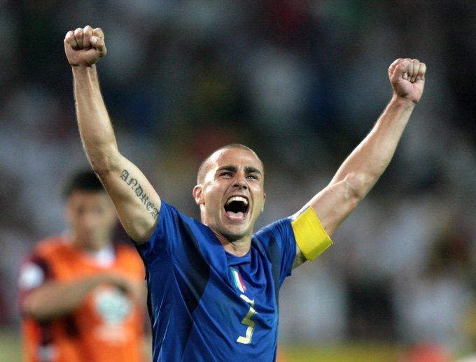 World Cup winner Ballon d\Or winner  Happy birthday to a legend, Fabio Cannavaro.
