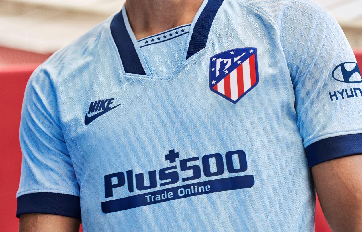 Tercera camiseta Atlético Madrid