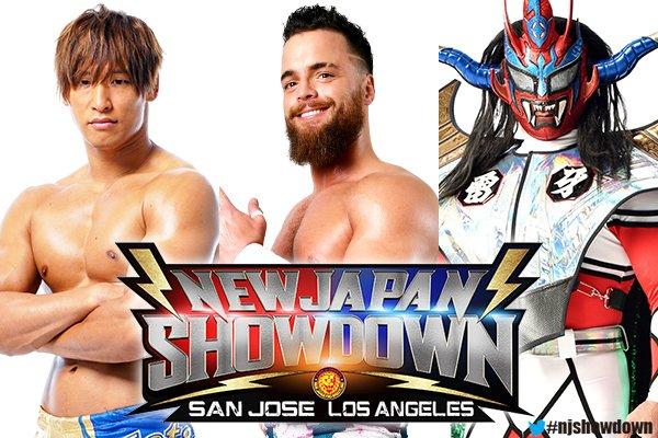 NJPW Announces Kota Ibushi, Jay White, Okada And More For New Japan Showdown