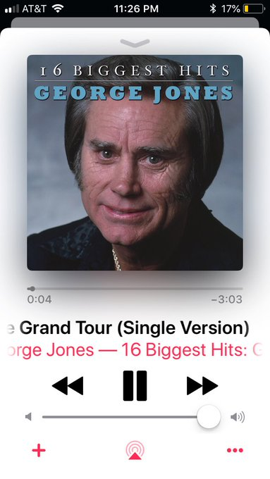 Happy birthday George Jones! This recording is such a masterpiece that it makes me cry haha