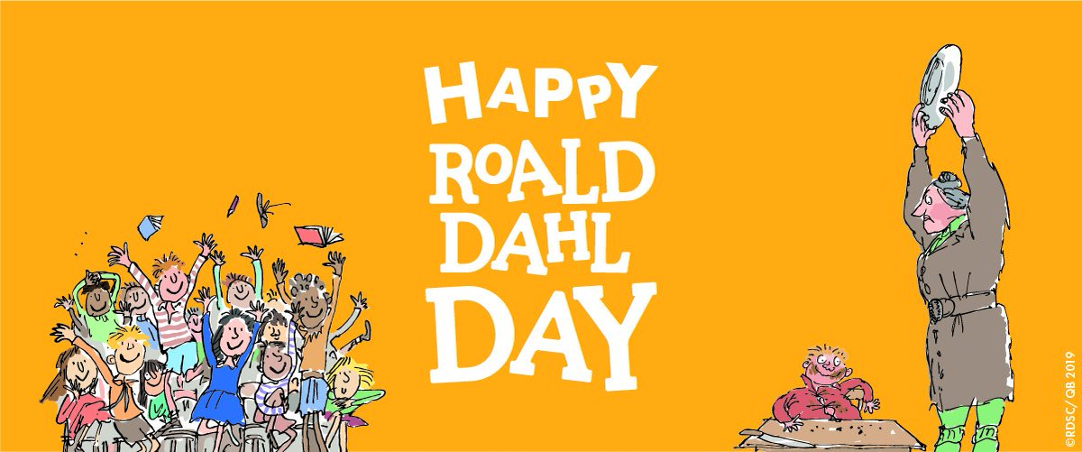 'All the reading she had done had given her a view of life that they had never seen.'  Matilda by Roald Dahl, born #onthisday in 1916.  #RoaldDahlDay<br>http://pic.twitter.com/5sOkXnjRyW