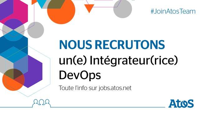 [#Job] Nous recrutons un(e) Intégrateur(rice) #DevOps à #AixenProvence ! Vous participerez...