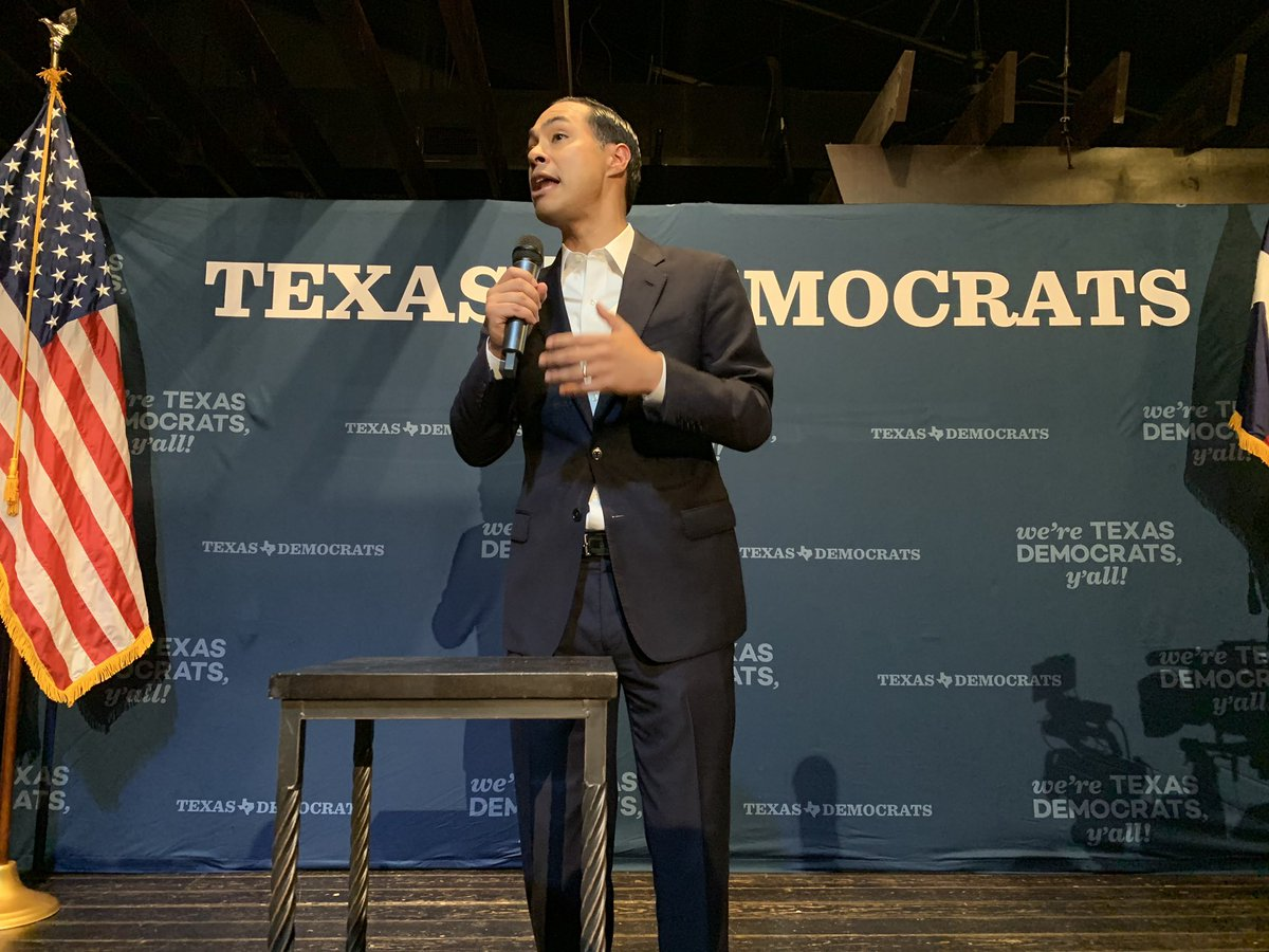 """""""Houston represents the future of our country. A place that is young, a place that is diverse, and a place that is growing!"""" - @JulianCastro"""