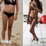 こちらの3人の女性の体重は同じです!!でも体脂肪に差が!!
