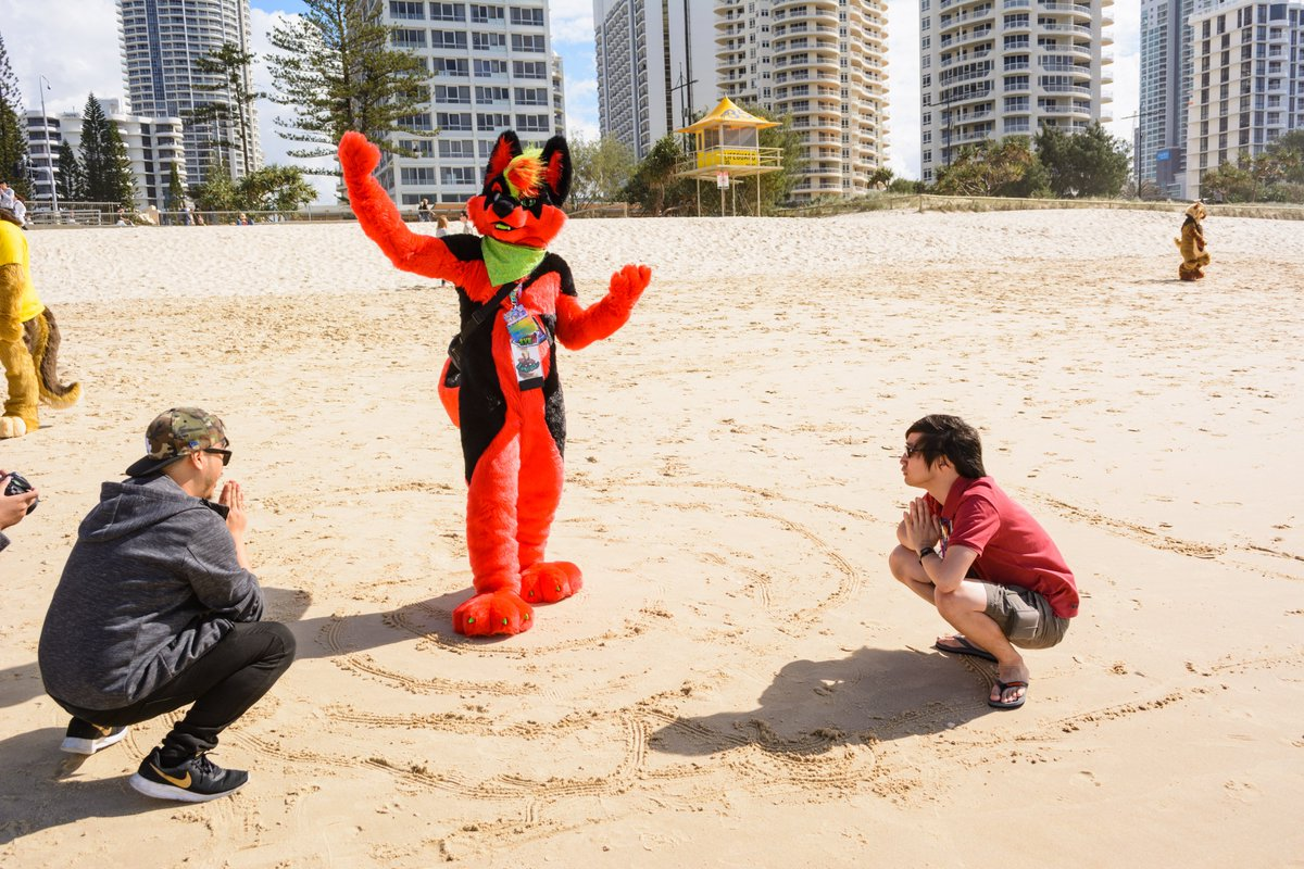 Thanks for summoning me-  Now ya'll shall praise the watermalone!    @dentetsuryu   @DontHugCacti  #FursuitFriday #dailyDHC <br>http://pic.twitter.com/vQfWrnOdIK