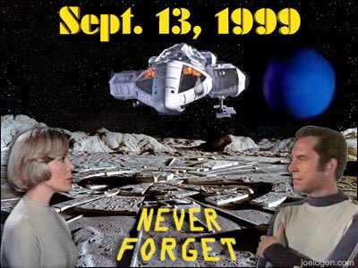 Can't believe it's 20 years since the Moon was blown out of Earth orbit. It still freaks my nut out to this day. #NeverForget #Space1999<br>http://pic.twitter.com/W9T53QdEJC
