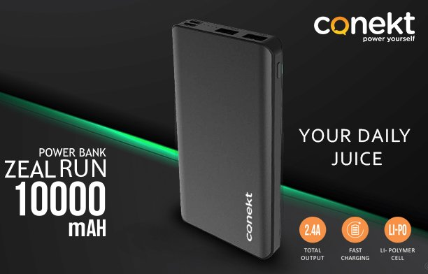 Never goes out of #Power be in Charged with Power bank Zeal #Prime 10000mAhExplore Our more Products http://www.conekt.in 👈👈👈For Buying Online https://tinyurl.com/y4qlnwyu 👈👈👈👈#Rohitsharma #Hitman #CWC19 #Worldcup19 #MobileGadgets #Conekt #Poweryourself