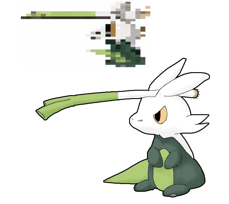 長ネギ ポケモン