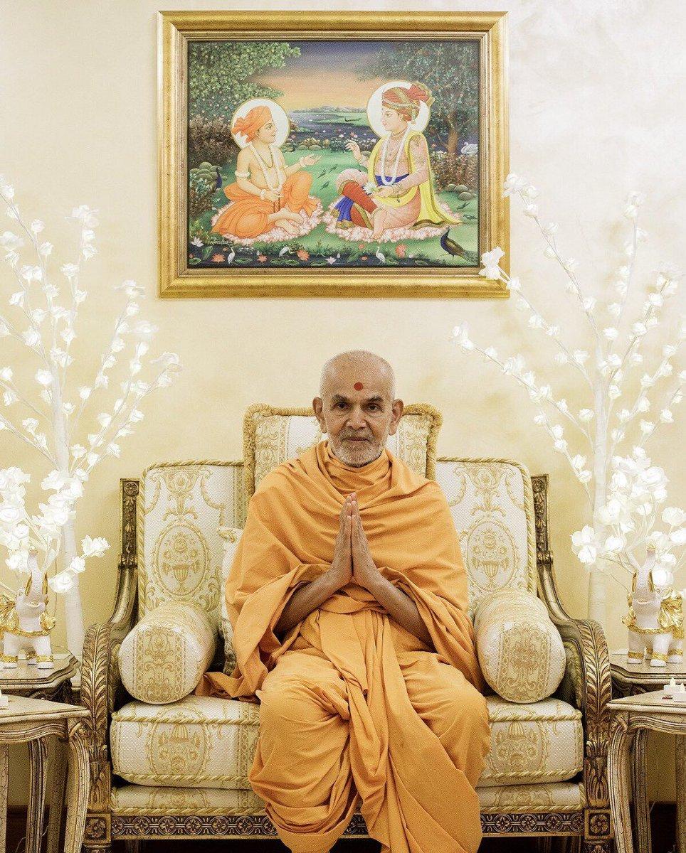 Happy New Year Mahant Swami 33