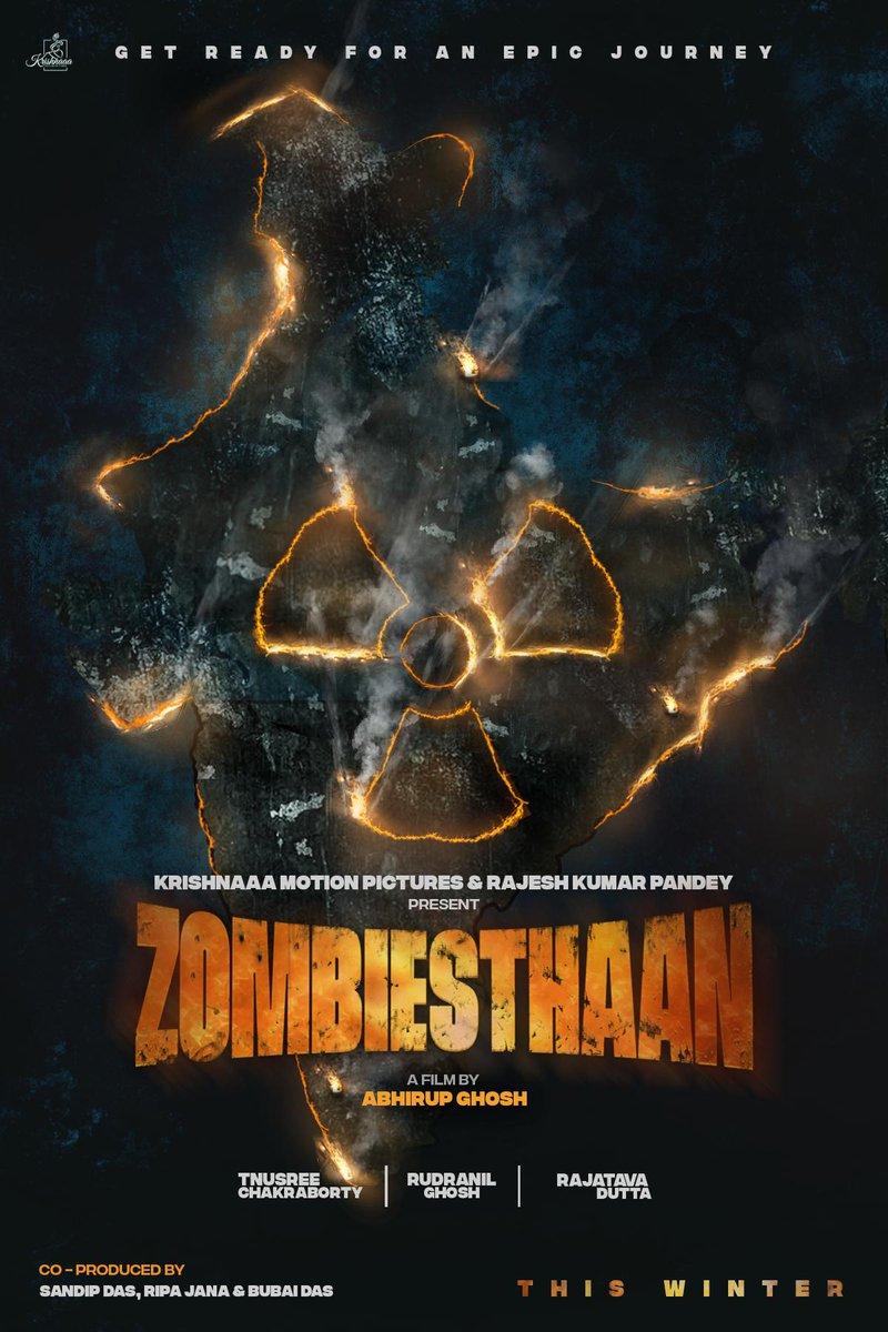 Introducing the first look of #Zombiesthaan. In theaters soon. @tnusreec #rudranilghosh #rajatavadutta