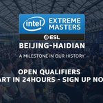 Image for the Tweet beginning: #IEM Beijing-Haidian 2019 Asian Open