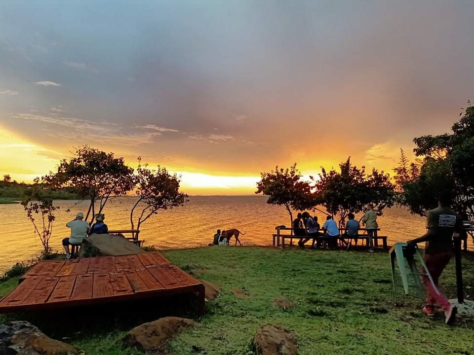 Kisumu by the Lake. Only at Dunga Hill Camp