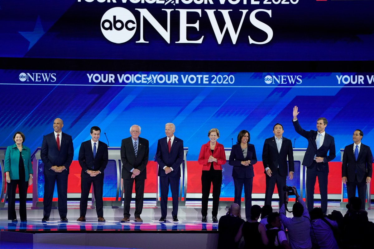 Did you watch last night's #DemocraticDebate? What did you think?