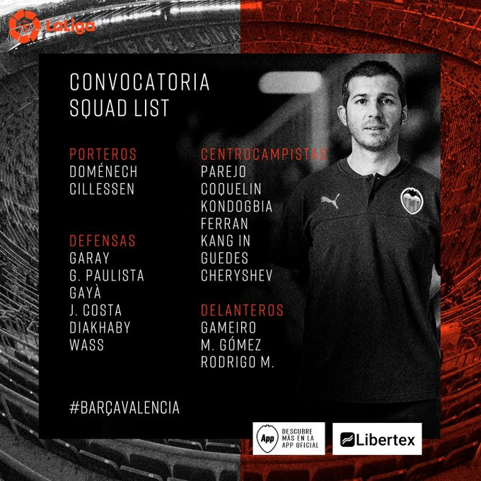 EEV0QgfWsAE8_xY?format=jpg&name=small Celades convoca a 18 jugadores para el Camp Nou - Comunio-Biwenger