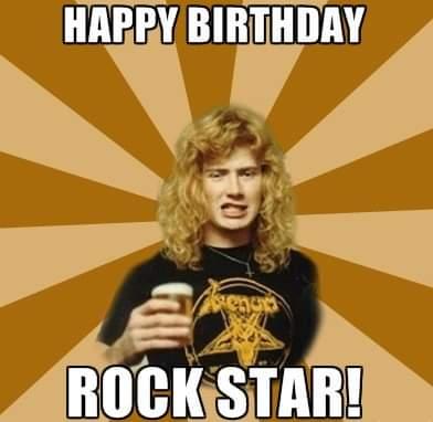 Happy birthday, Dave Mustaine!!!