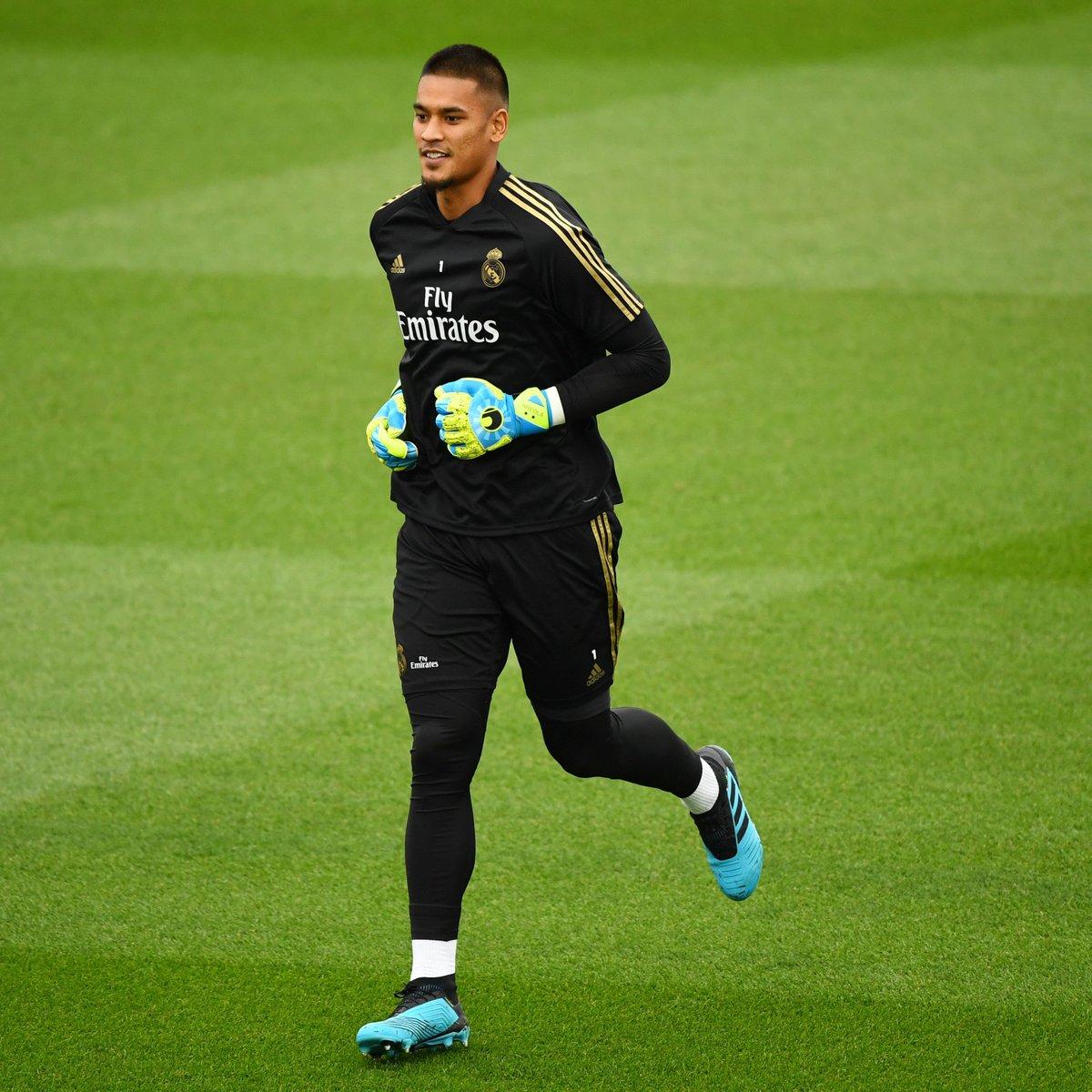 ⚪️ New goalkeeper at Real Madrid... 🙌 Alphonse Areola #UCL