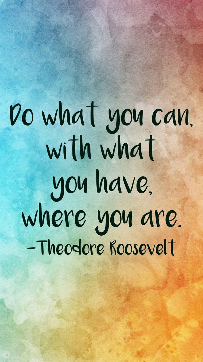 #FridayVibes  Do what #you can with what you #have where you #are #quotesforlife  #success<br>http://pic.twitter.com/l3ZUN42FUV