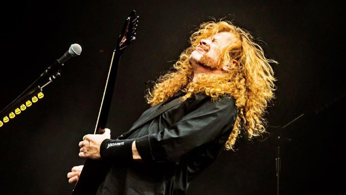 Happy Birthday To Dave Mustaine 58ans.